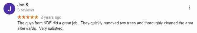 Google reviews by Jon S