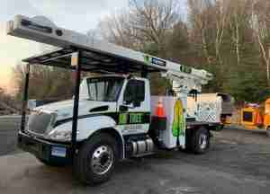 KDF Tree removal truck with boom