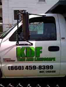 KDF's oldest white truck with green lettering