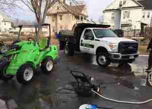 3rd generation KDF truck and green machine